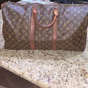 Vintage Louis Vuitton Duffel Bag 50